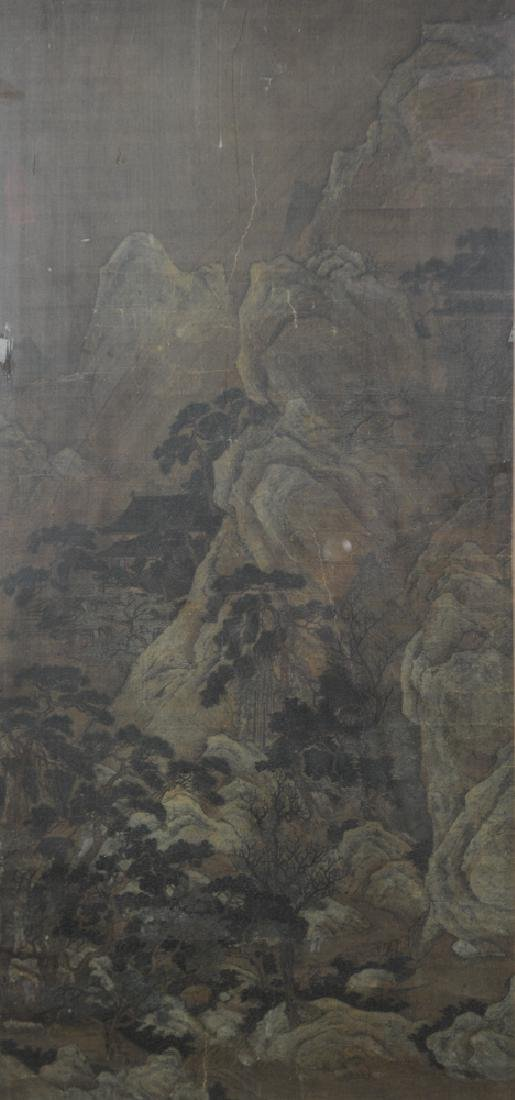 Chinese Landscape Painting, Ming or Earlier