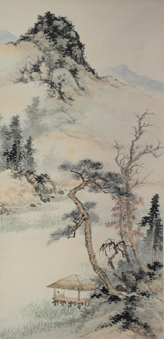 Chinese Unsigned Landscape Painting
