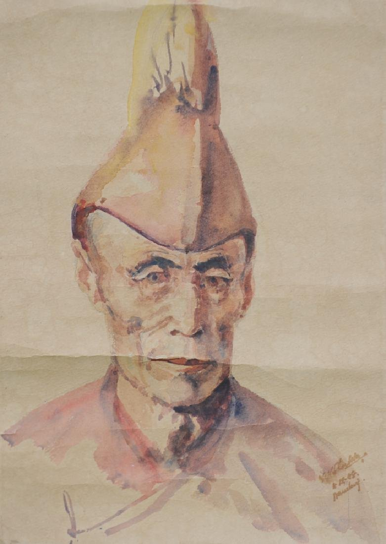 Old Portrait of an Indian Gentleman