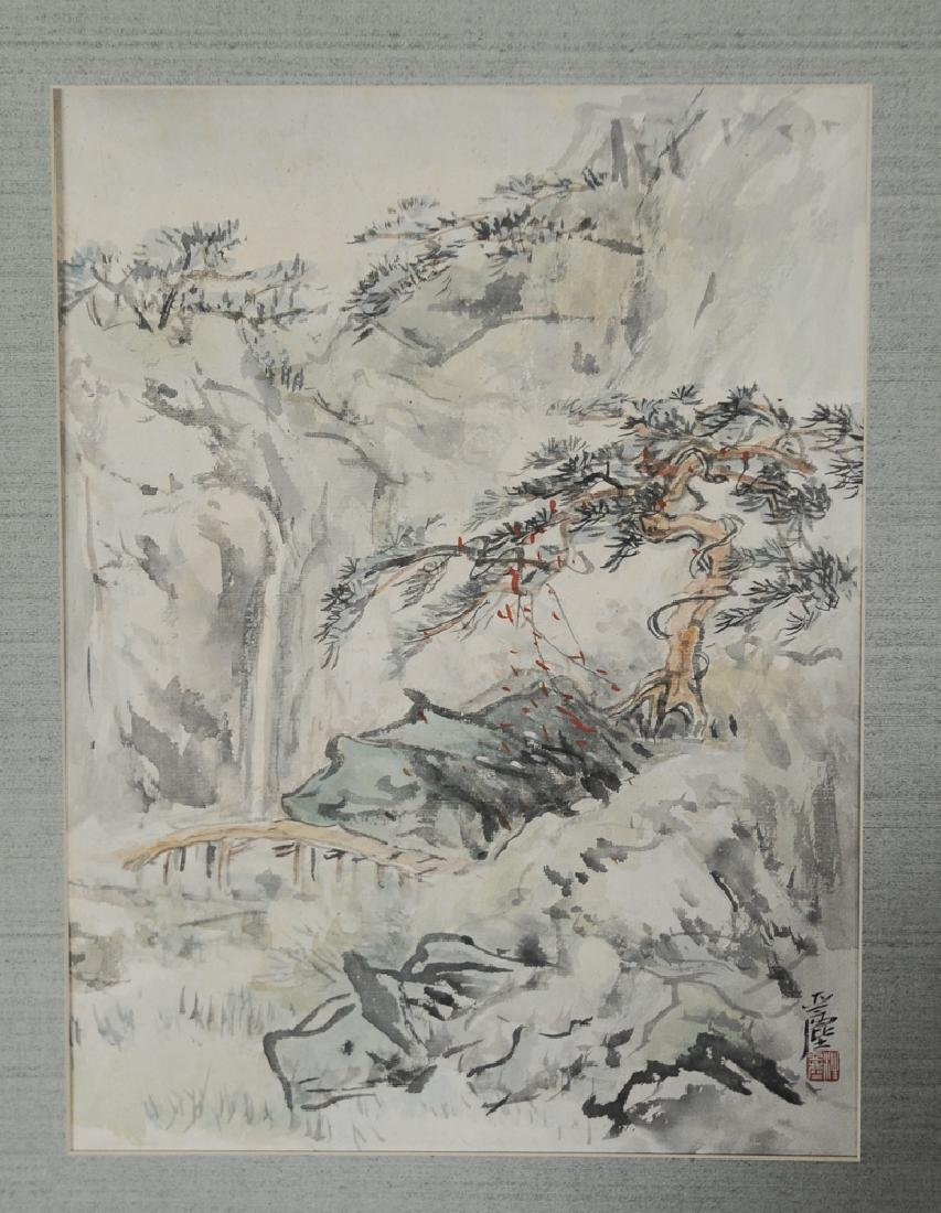 Chinese Landscape Painting by Wang Yachen