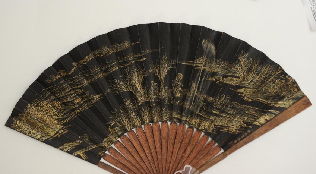 Fan Painting Attributed to Jiao Bingzhen