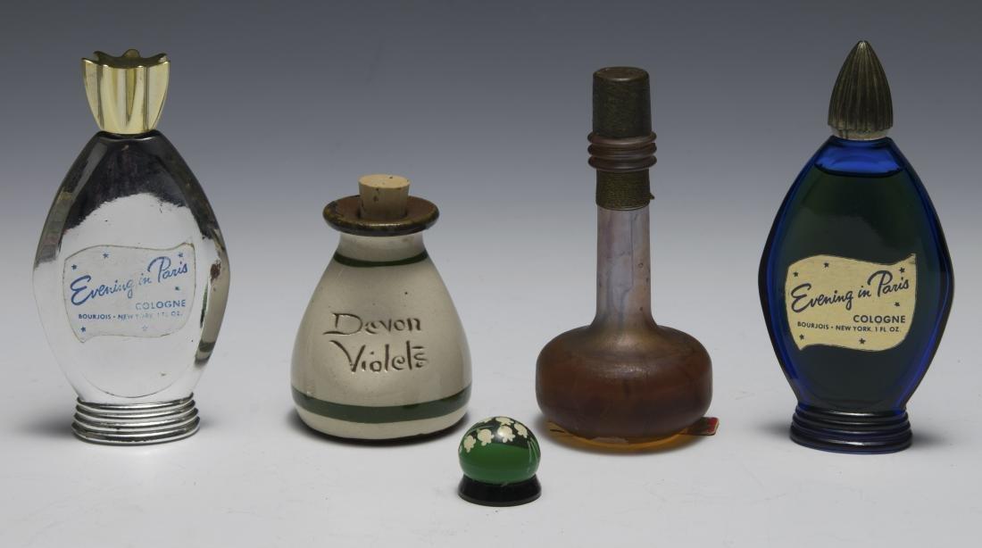 Five Assorted Perfume Bottles