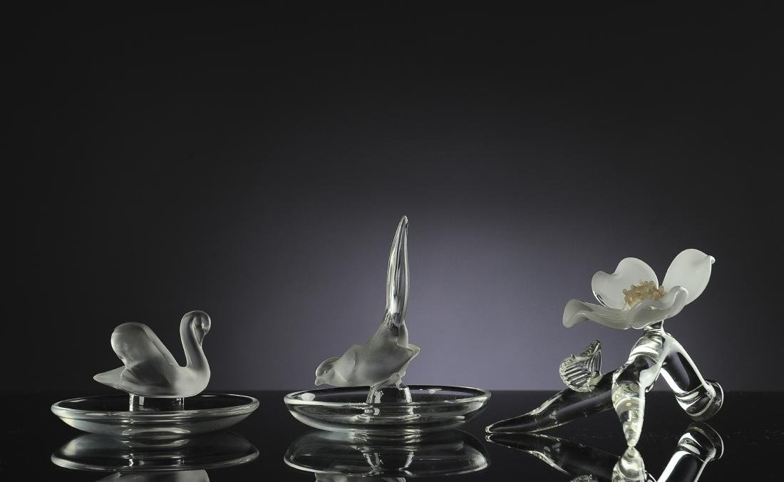 Three Pieces of Glassware, Inc. Lalique