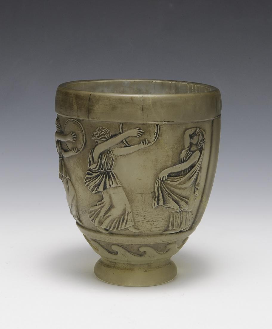 Satin Glass Vase by Georges de Feure