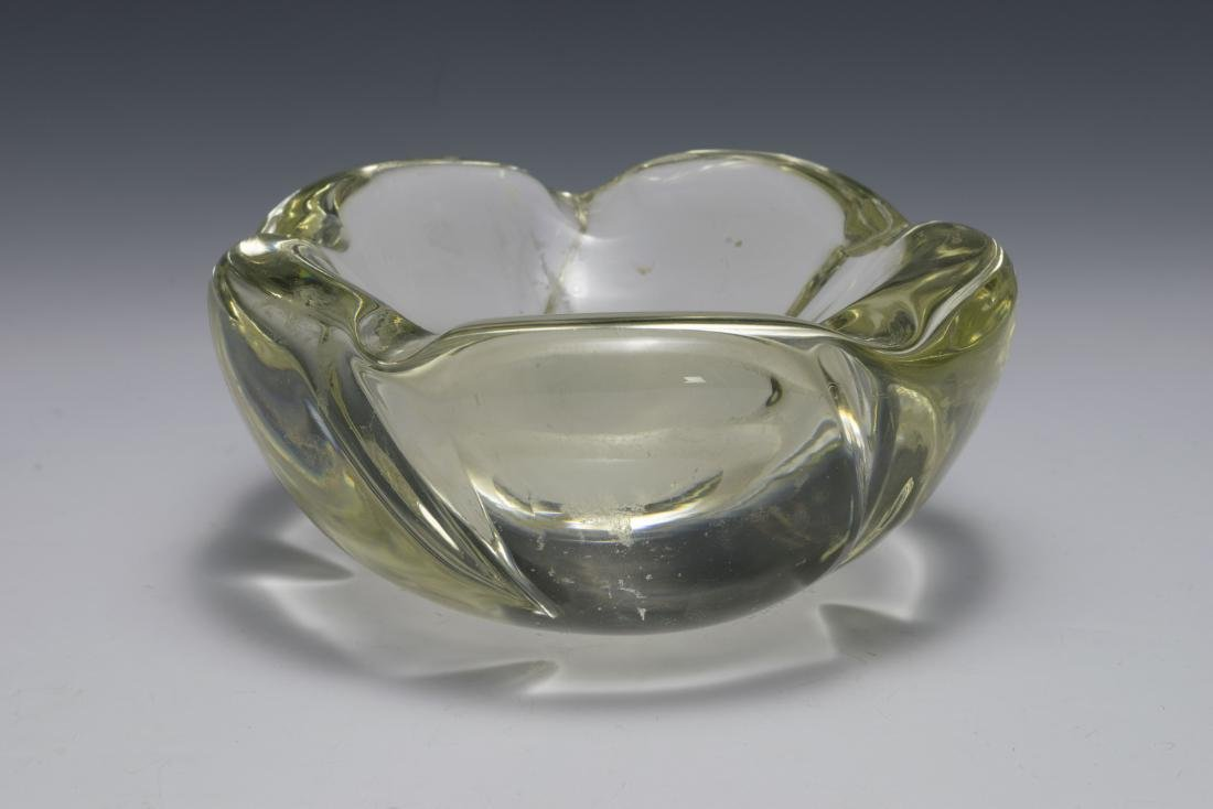 Lead Crystal Ash Tray by Daum Nancy