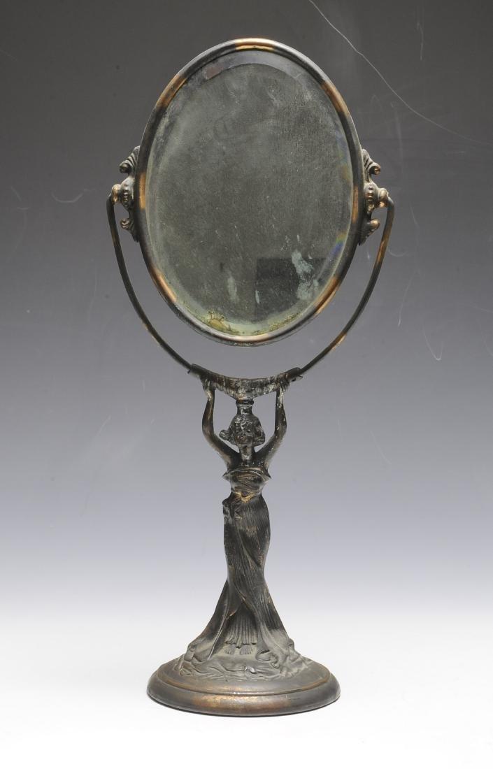 Art Nouveau Dresser Mirror
