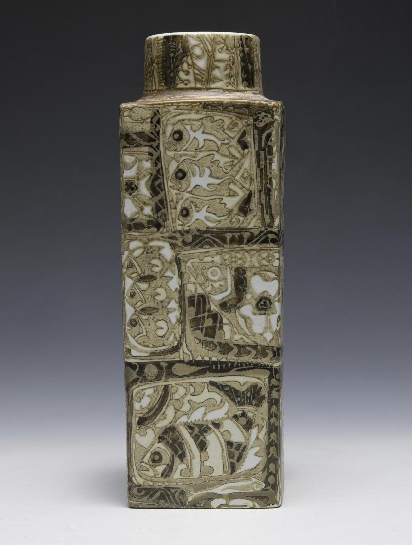 Royal Copenhagen Fajance Pottery Vase