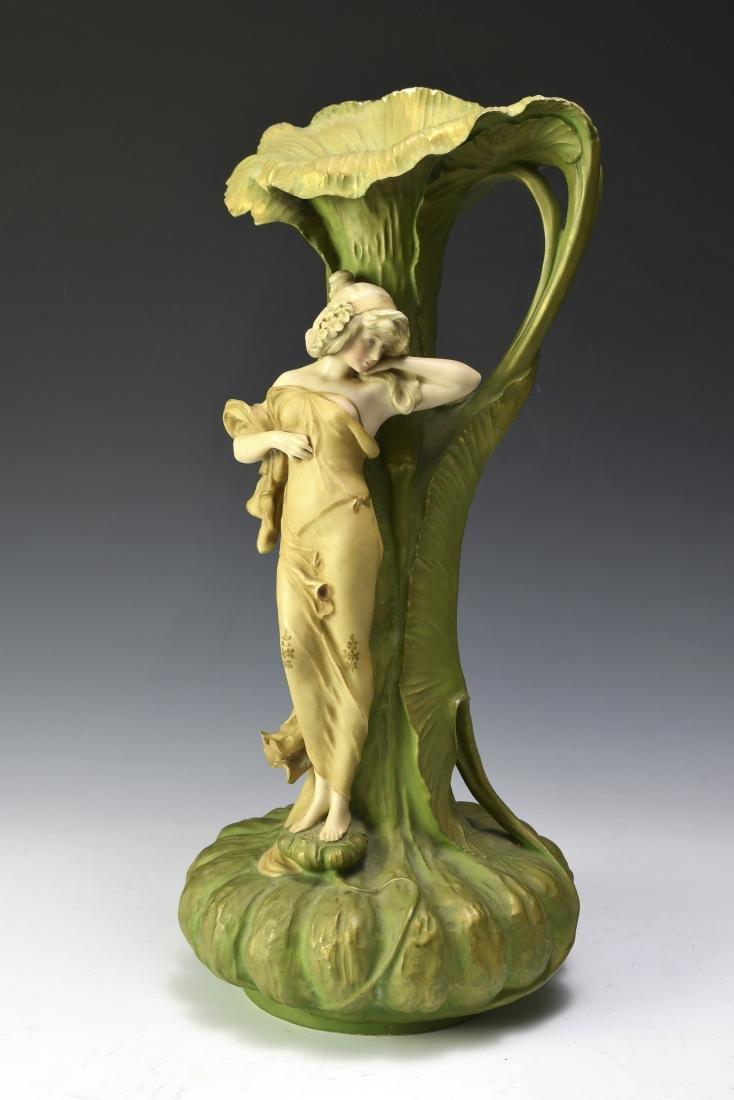 A Large Amphora Centerpiece Vase