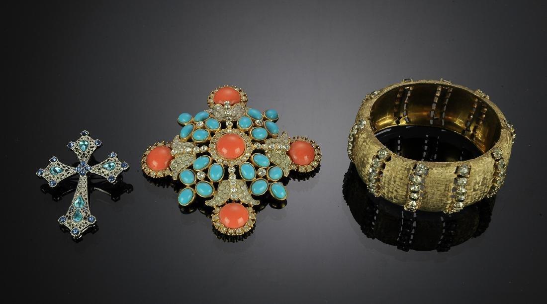 Three Pieces Costume Jewelry Inc. Kenneth J Lane
