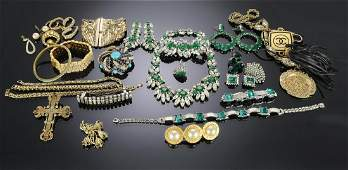 TwentySix Pieces of Costume Jewelry