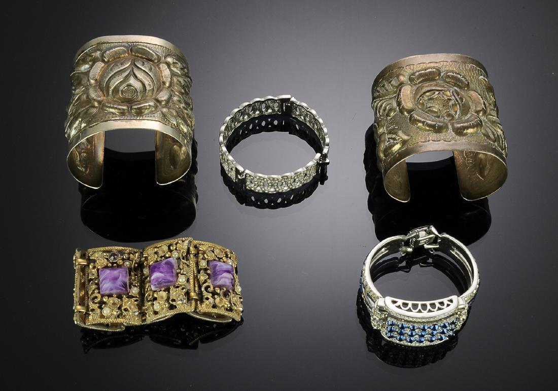 Five Costume Bracelets