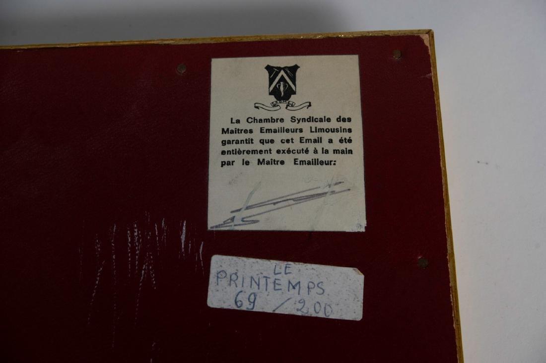 Limoges Porcelain Plaque #69/200 - 6
