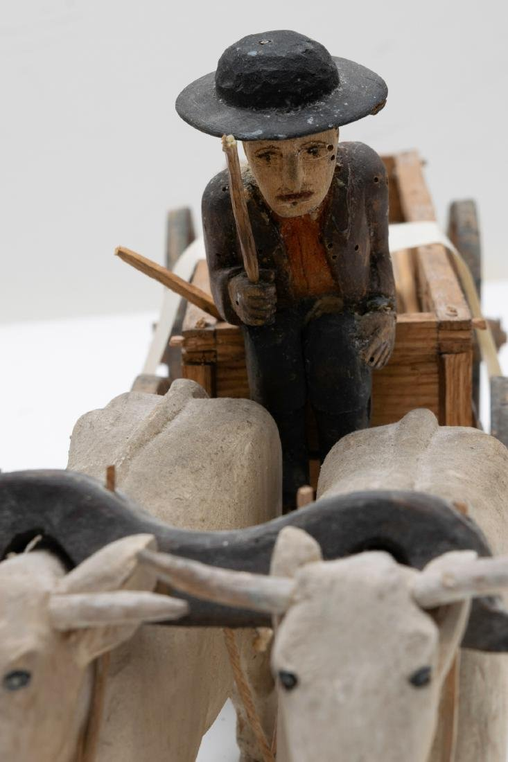 A Fine Group of Folk Art Carving from Iowa - 5
