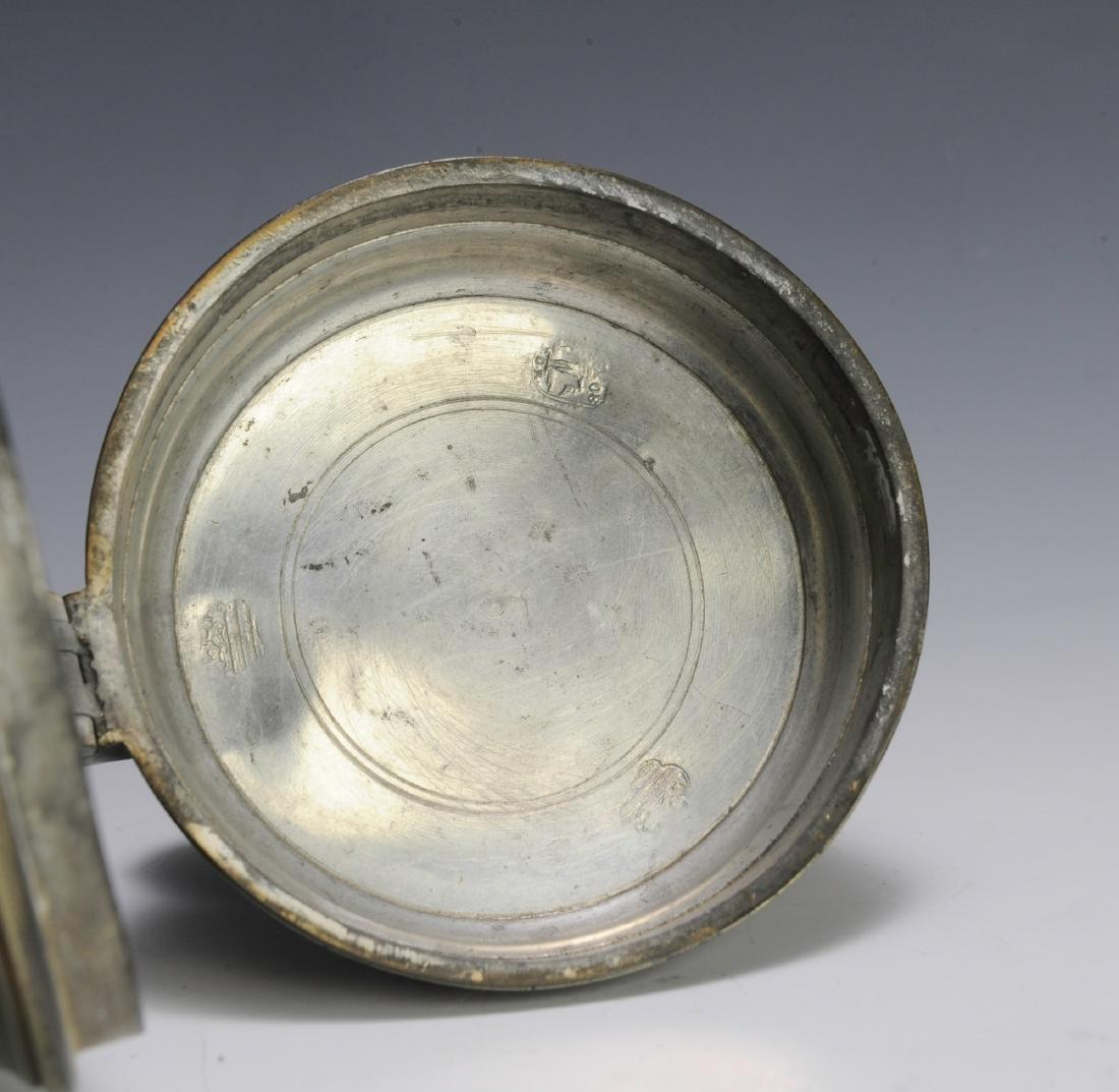 19th Century Pewter Tankard - 6