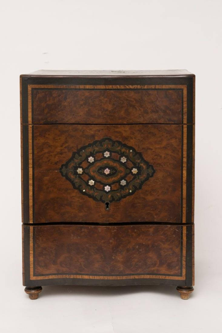 Inlaid Tantalus Circa 1810 - 2