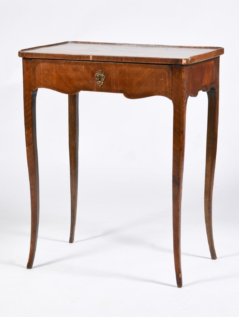 French Inlaid End Table circa 1900