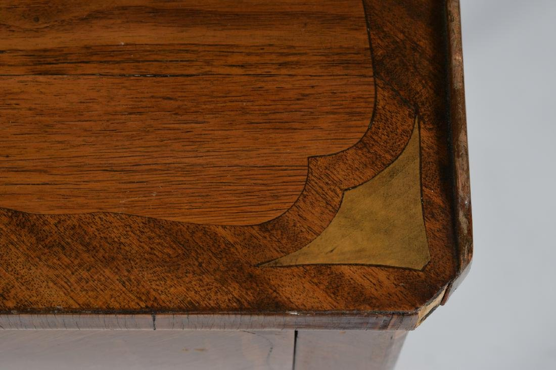French Inlaid End Table circa 1900 - 3