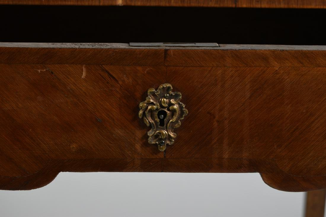 French Inlaid End Table circa 1900 - 8