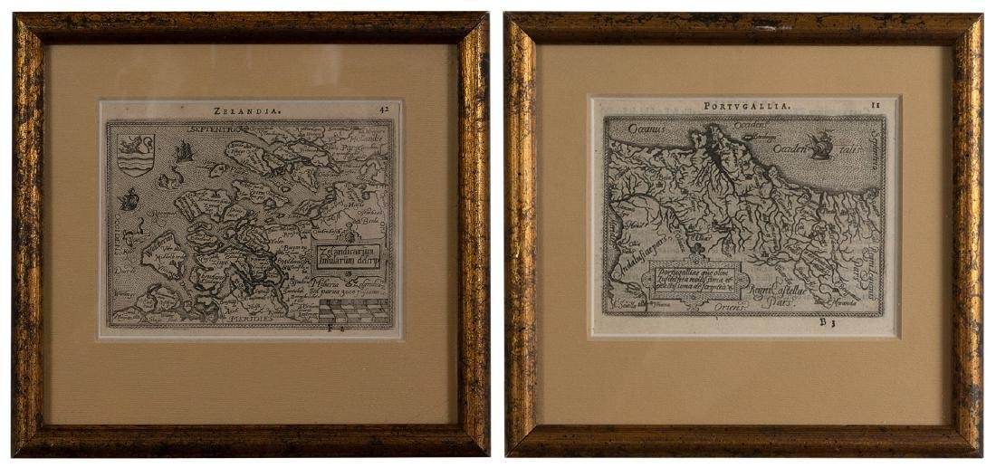 Two Small Maps from 1588