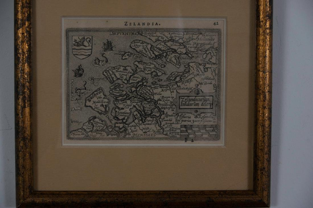 Two Small Maps from 1588 - 2