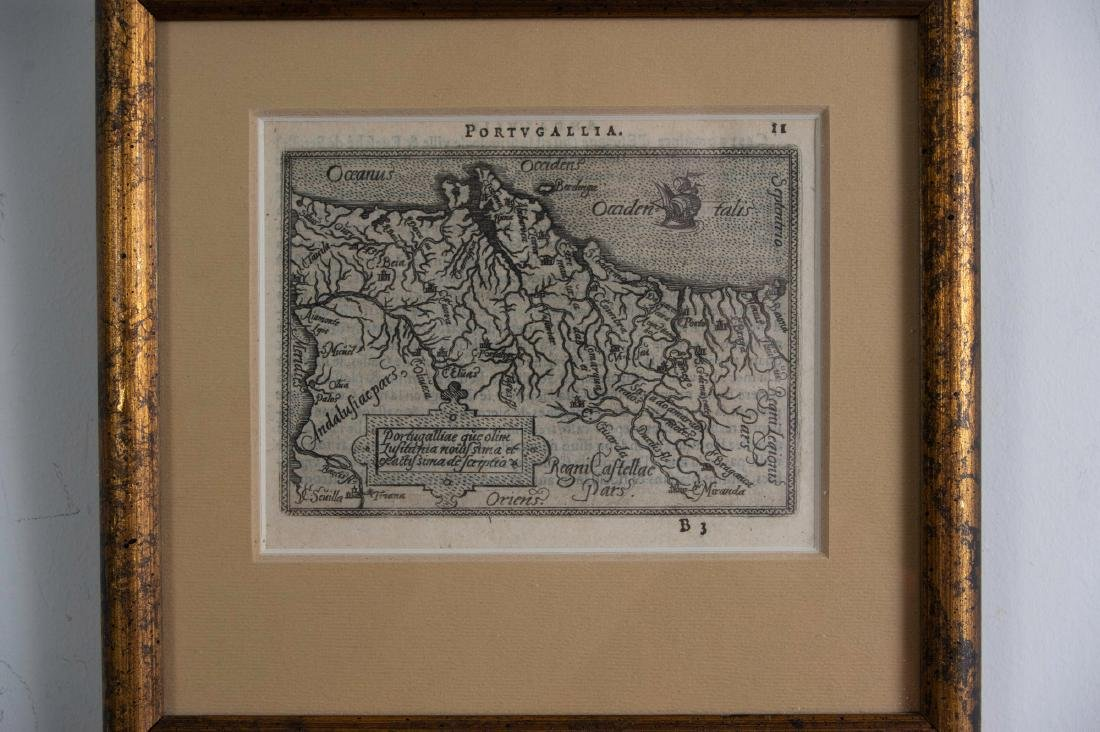 Two Small Maps from 1588 - 3