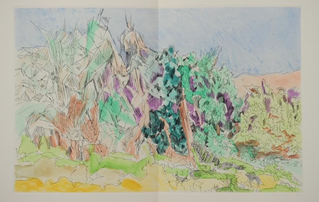 Jacques Villon, Les Travaux et les Jours, Folio