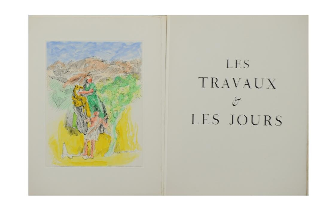 Jacques Villon, Les Travaux et les Jours, Folio - 2