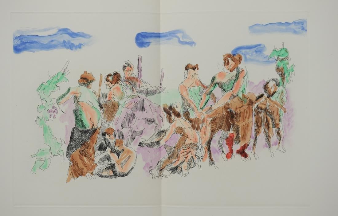 Jacques Villon, Les Travaux et les Jours, Folio - 3