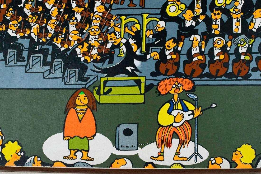 Big Band Seriagraph by Xavier Cugat - 5