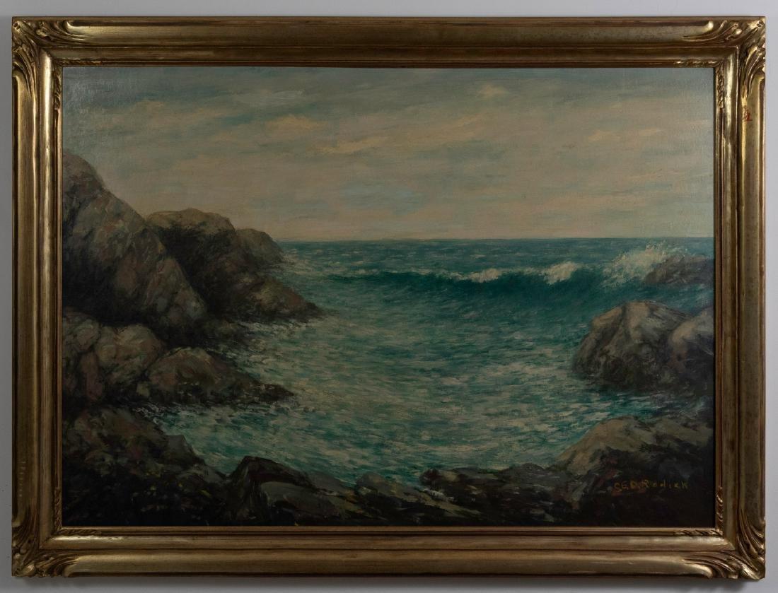 Seascape Signed CED Rodick