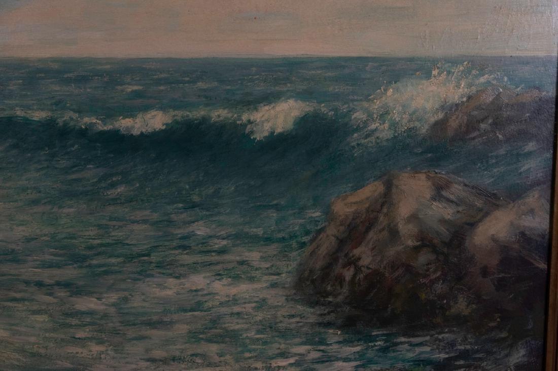 Seascape Signed CED Rodick - 2
