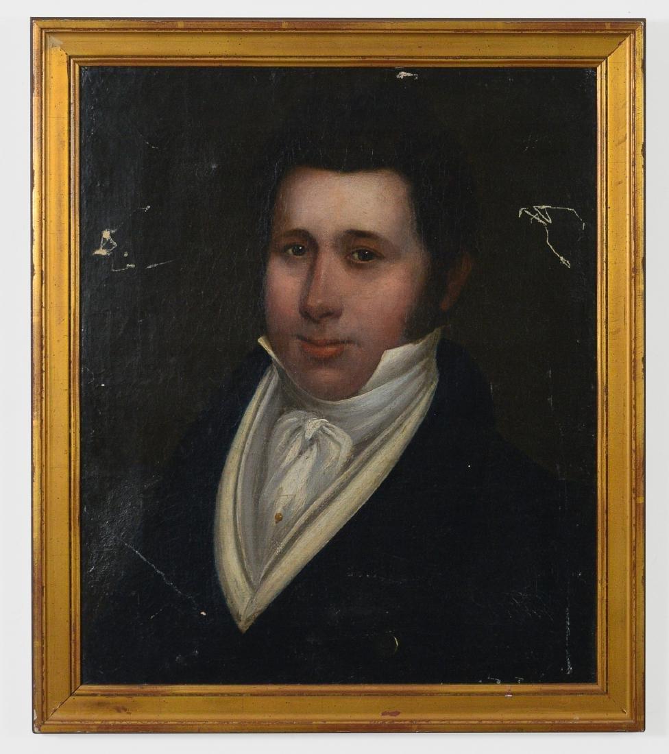 English Oil Portrait of John Hartley