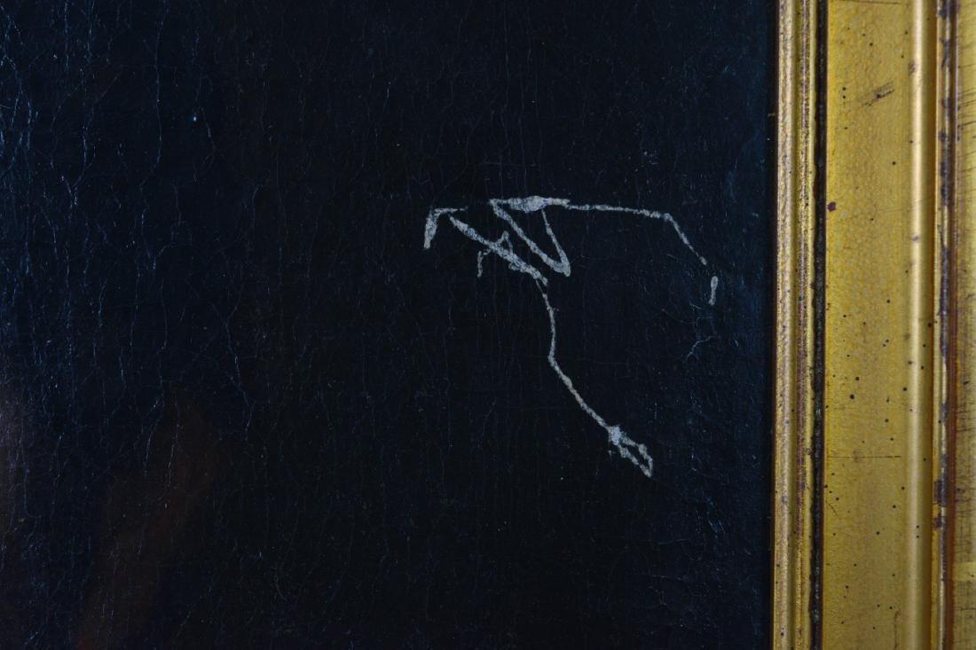 English Oil Portrait of John Hartley - 3