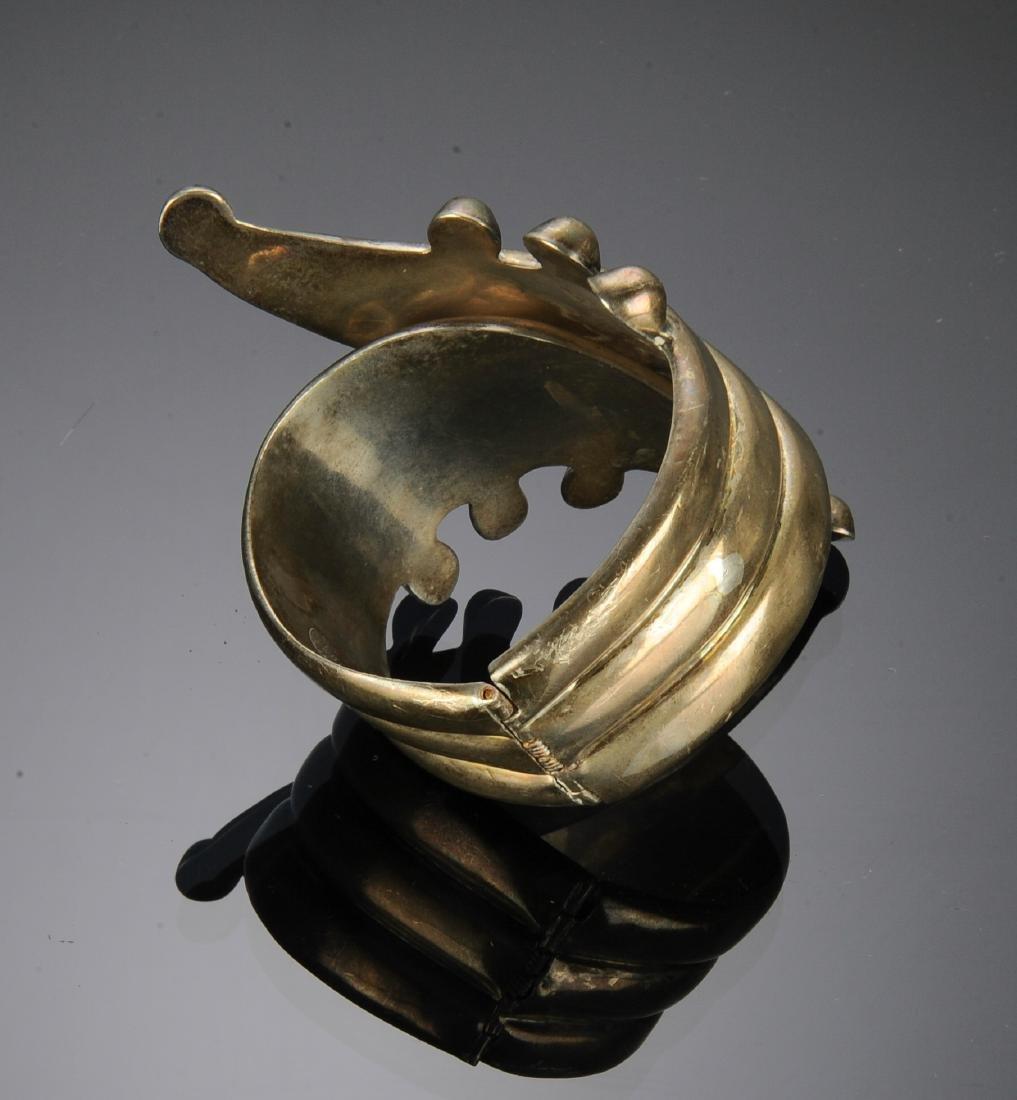 Taxco Sterling Silver Bracelet - 2