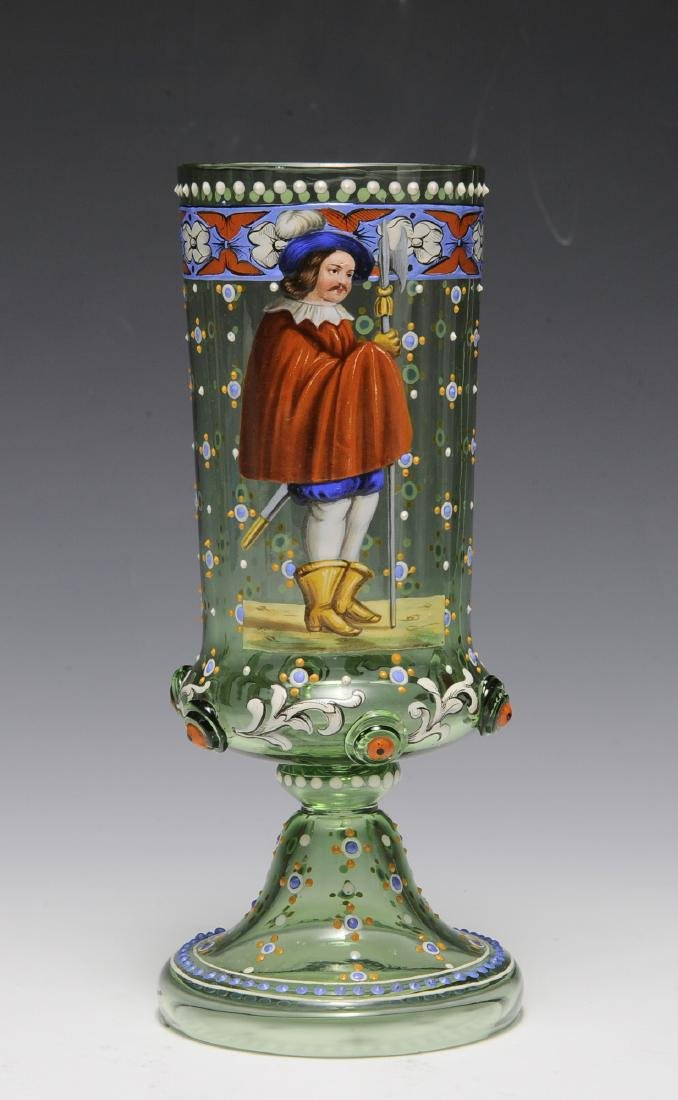 Moser Glass with Soldier