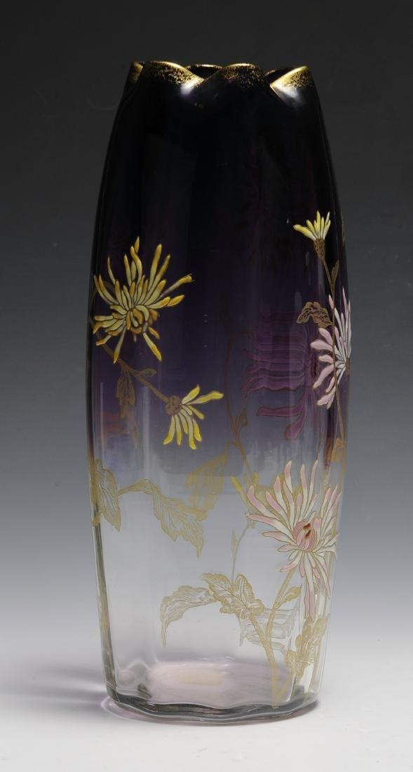 Large Moser Vase - 2