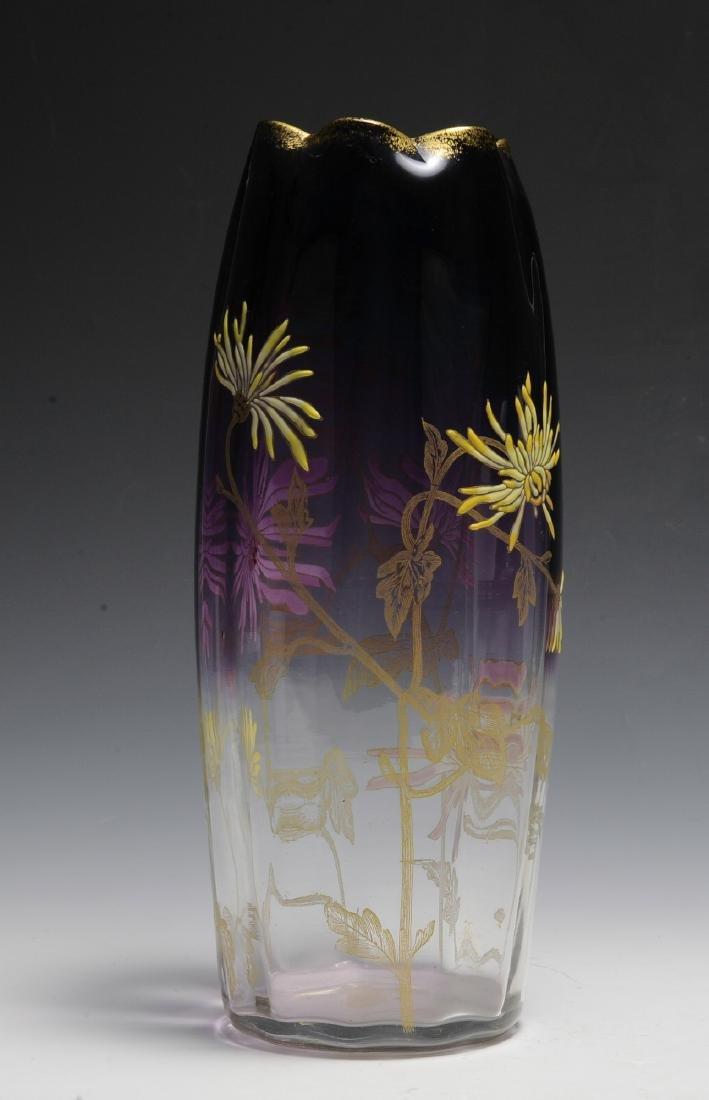 Large Moser Vase - 3