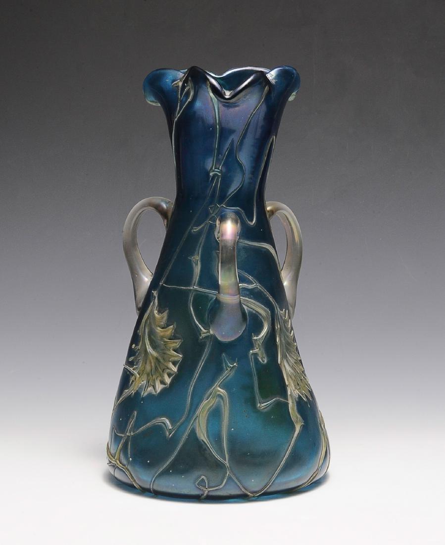Blue Pallme Koenig Vase