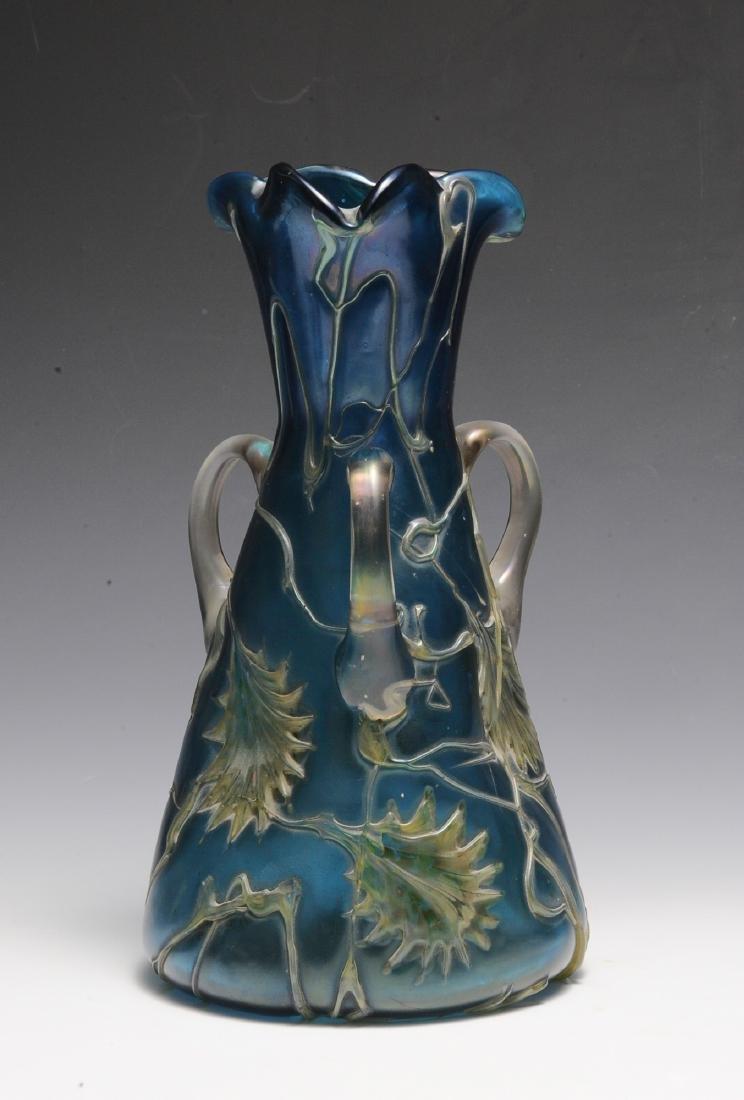 Blue Pallme Koenig Vase - 3