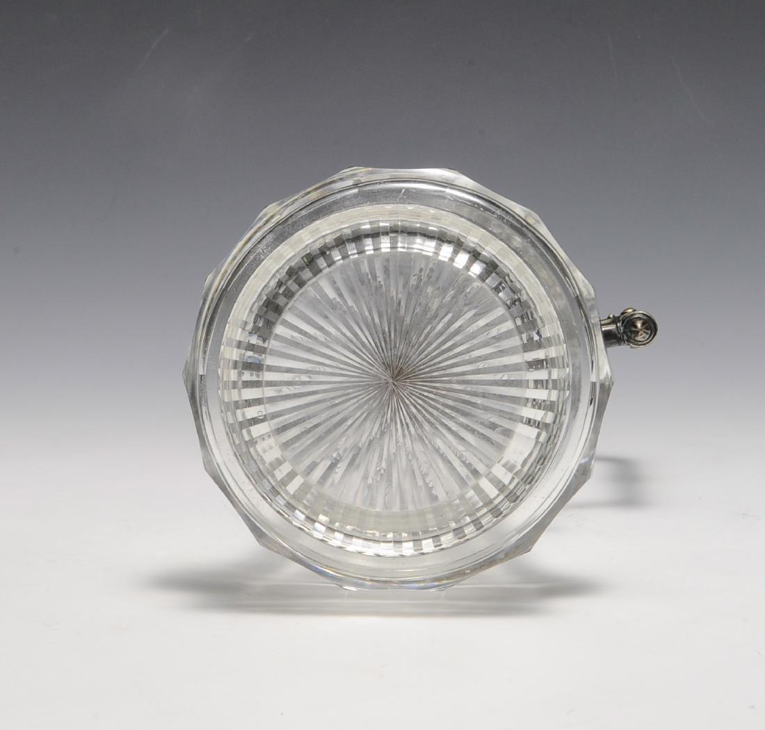 Silver Mounted Crystal Ewer Circa 1880 - 5