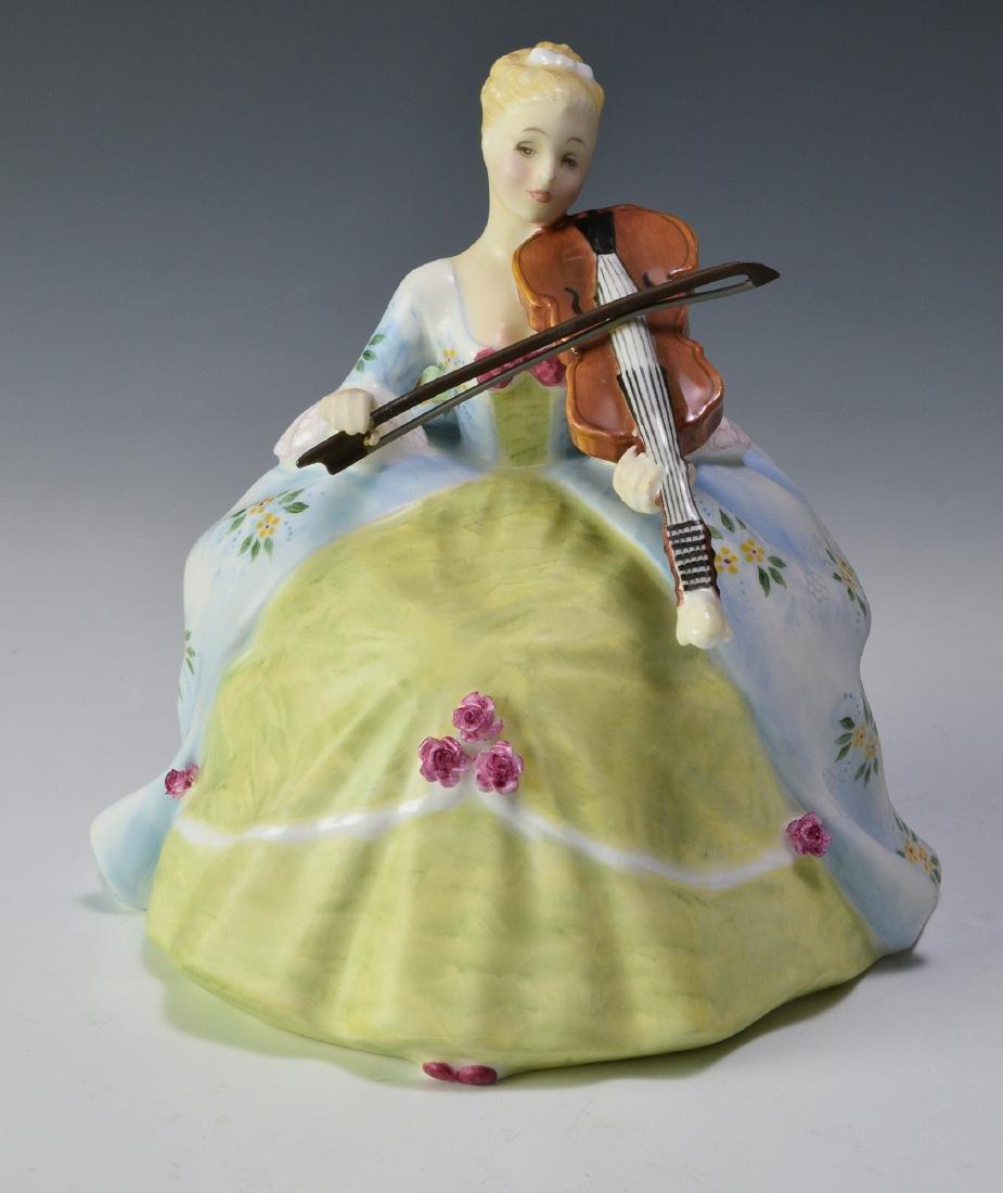 """Royal Doulton """"Viol d'Amore"""" Figure"""