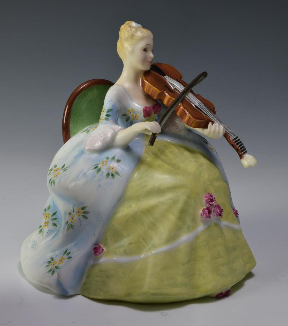 """Royal Doulton """"Viol d'Amore"""" Figure - 2"""