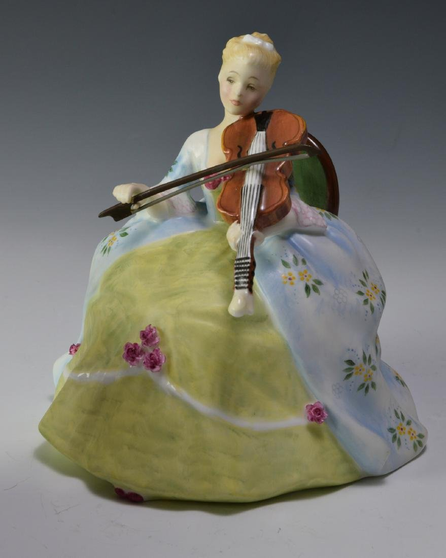 """Royal Doulton """"Viol d'Amore"""" Figure - 4"""