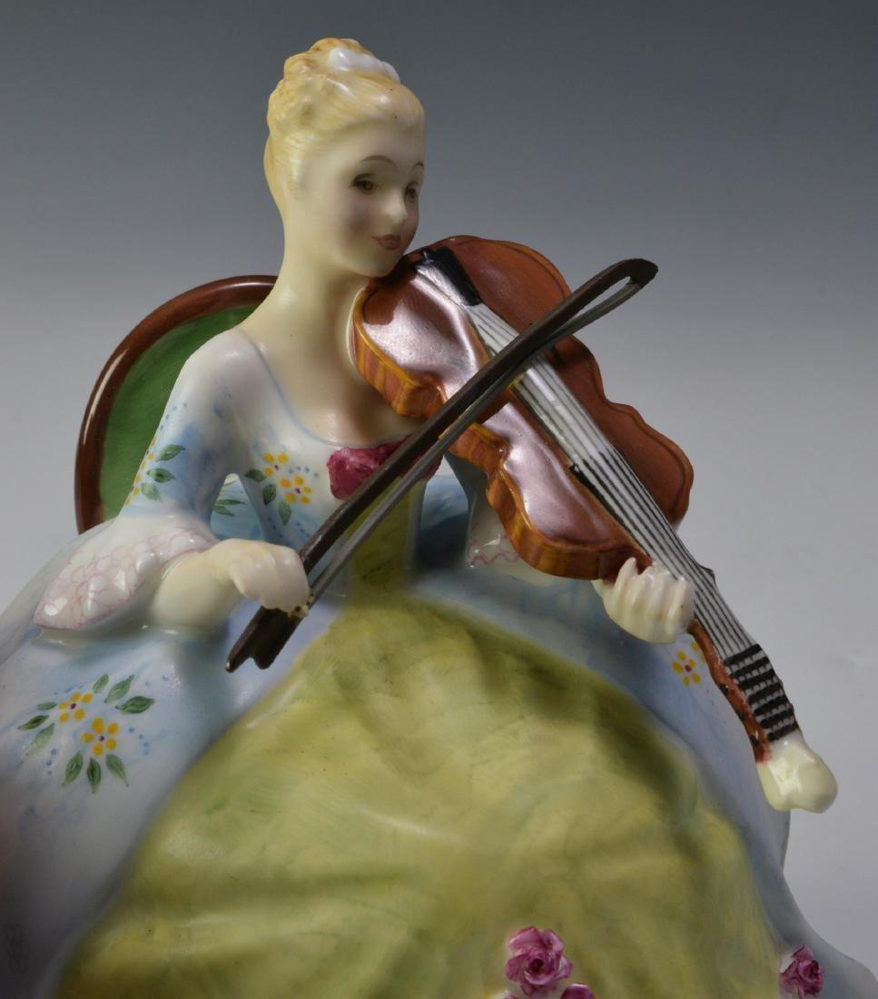 """Royal Doulton """"Viol d'Amore"""" Figure - 5"""