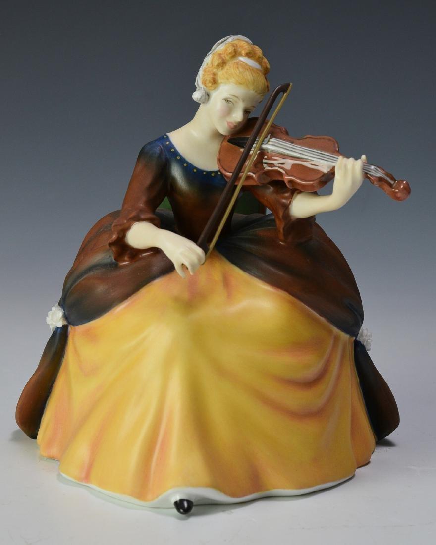 "Royal Doulton ""Violin"" Figure"