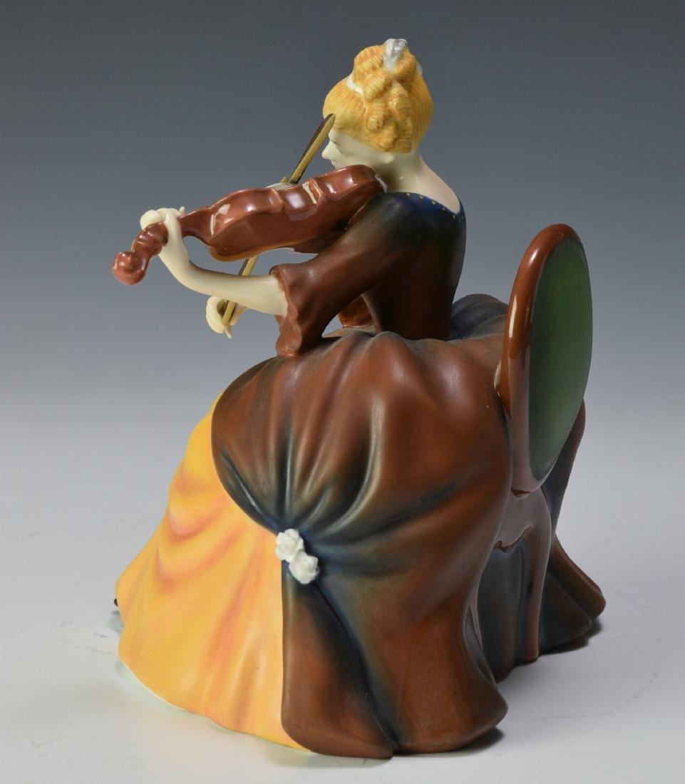 "Royal Doulton ""Violin"" Figure - 4"