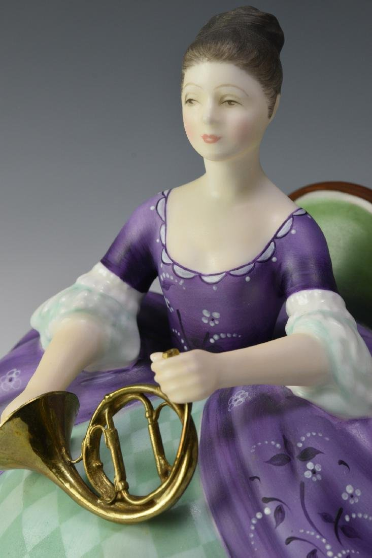 """Royal Doulton """"French Horn"""" Figure - 5"""