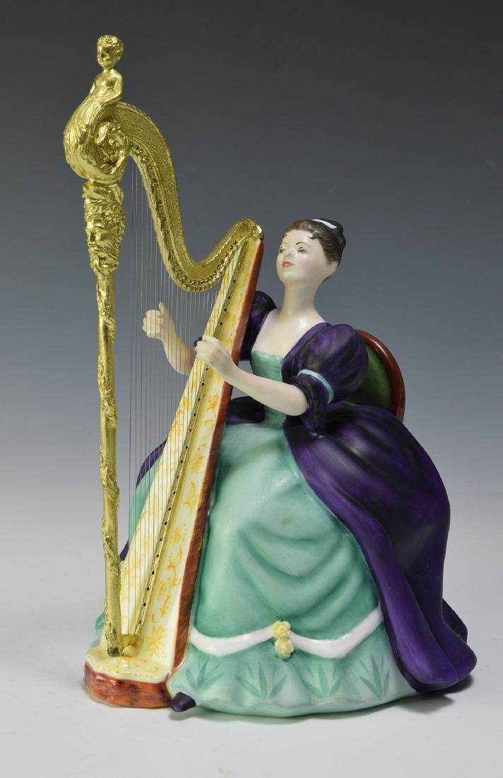 "Royal Doulton ""Harp"" Figure"