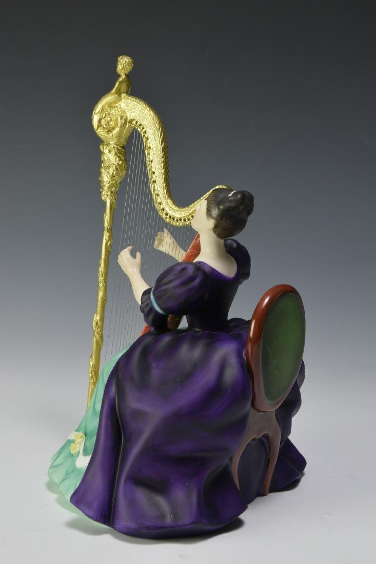 "Royal Doulton ""Harp"" Figure - 2"