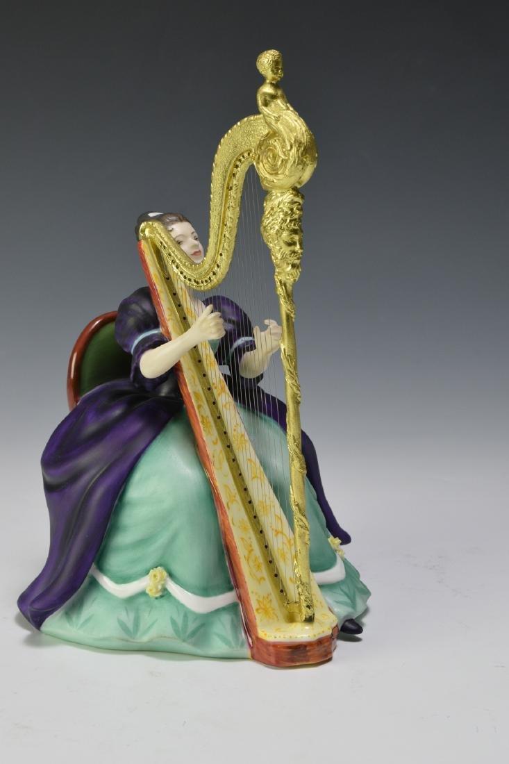 "Royal Doulton ""Harp"" Figure - 5"